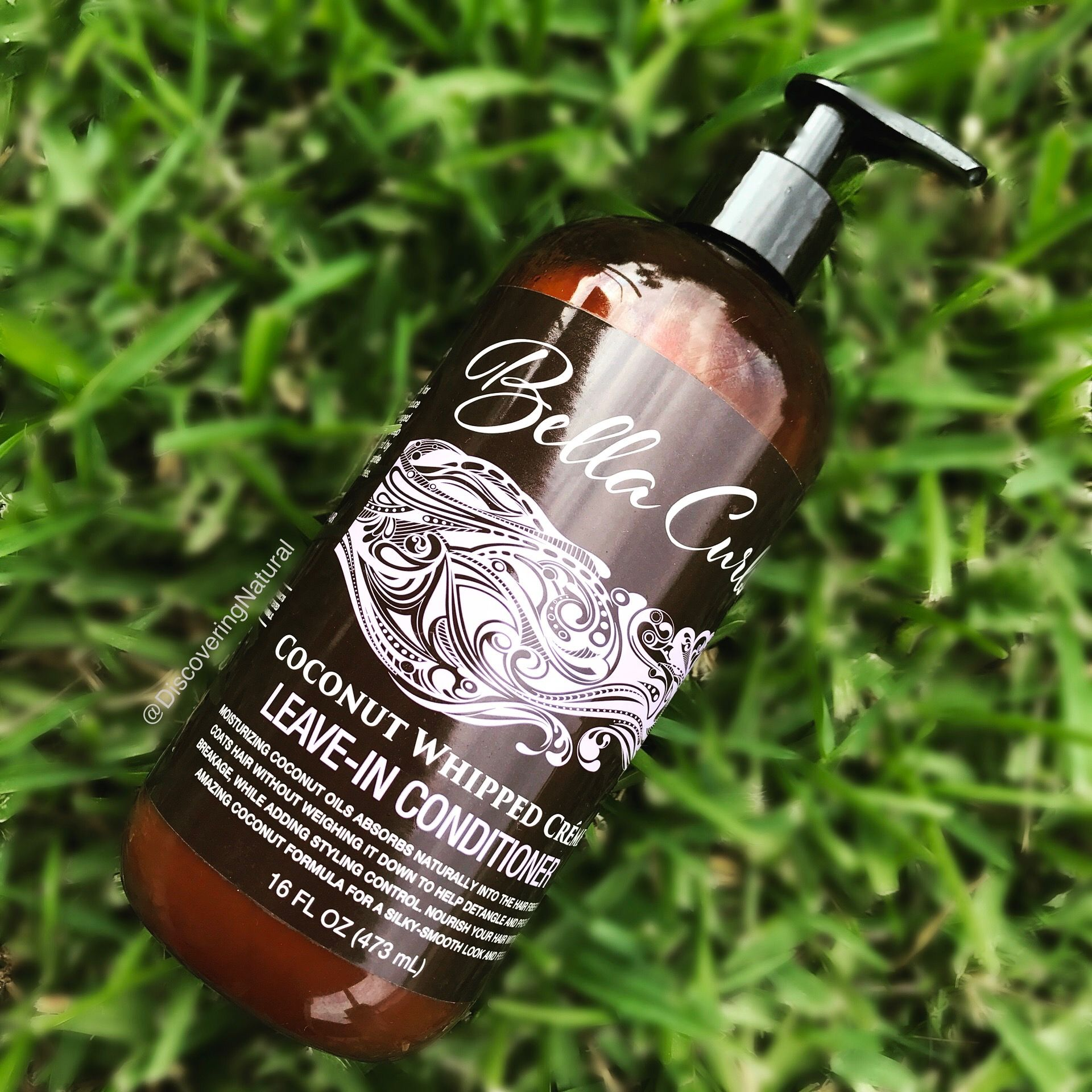 Bella curls whipped coconut creme leave in conditioner