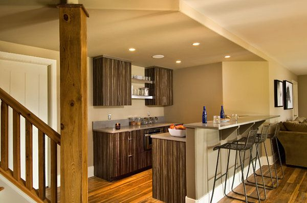 Barra bar cocina doble altura hogar de sue os for Altura barra cocina