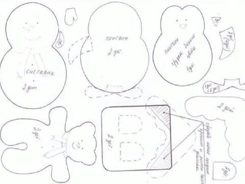 des patrons gratuits pour faire des d corations de no l avec de la feutrine bonecas e moldes. Black Bedroom Furniture Sets. Home Design Ideas