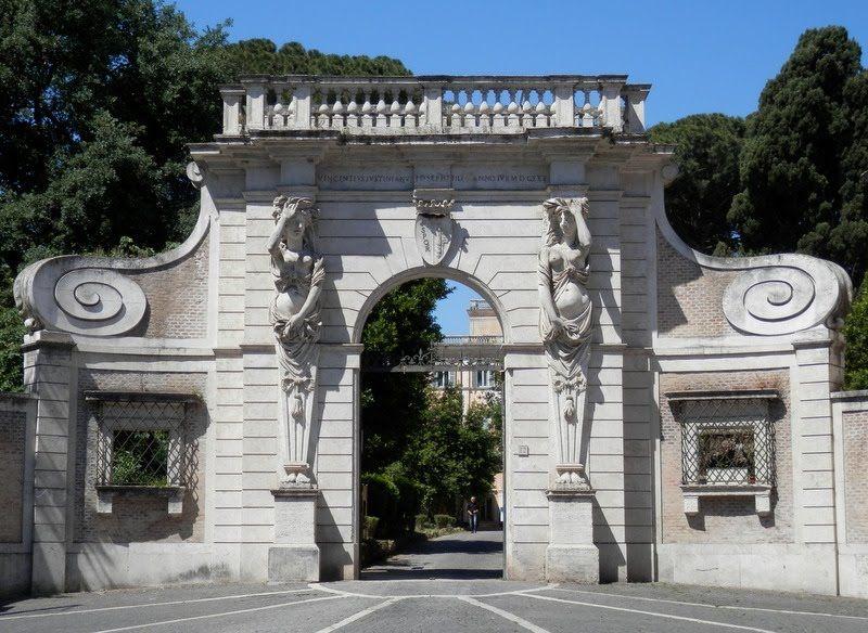 Italian Villas villa Celimontana, Roma