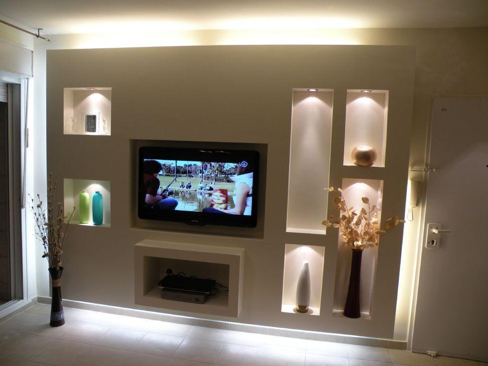 bildergebnis f r wohnzimmer fernsehwand trockenbau fernsehwand tv wand tv wand trockenbau. Black Bedroom Furniture Sets. Home Design Ideas