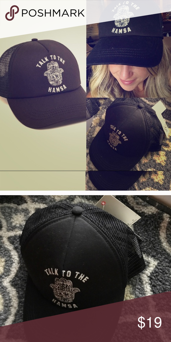 066c742ca8e Billabong talk to the hamsa women s trucker hat New osfm - this is a  shorter style