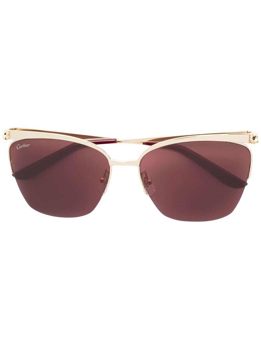 bf506ea0c0 Cartier panthÈre de cartier sunglasses gold cartier jpg 1000x1334 Cartier  frame gold 2018