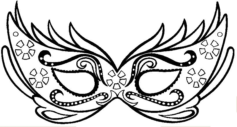 Masque carnaval coloriage bing images carnaval - Dessin de masque de carnaval ...