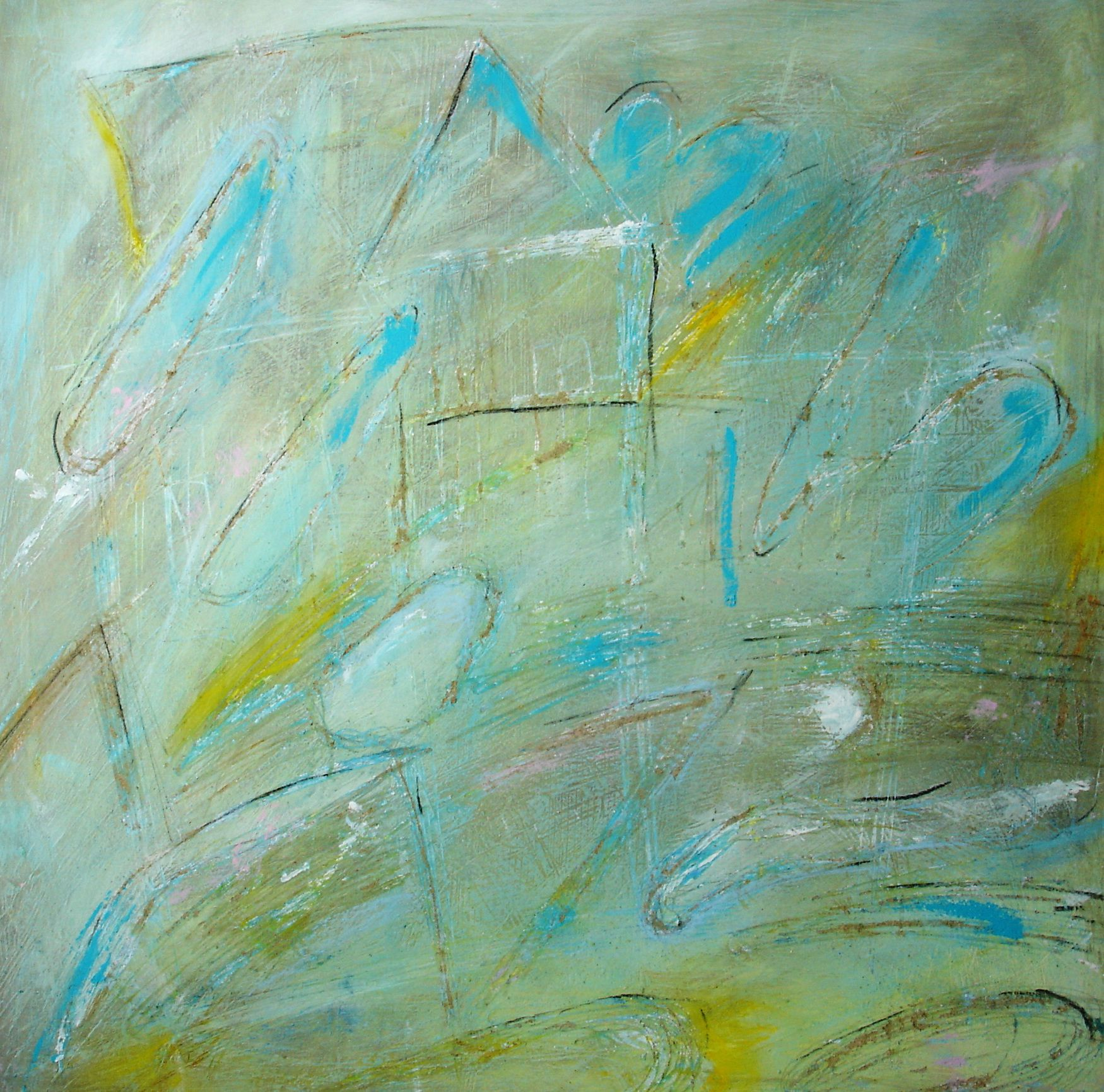 60x60 cm  acrylic paintings on sololit, My own paintings : Ask me to informations and prices on email : ivana.pelouchova@...