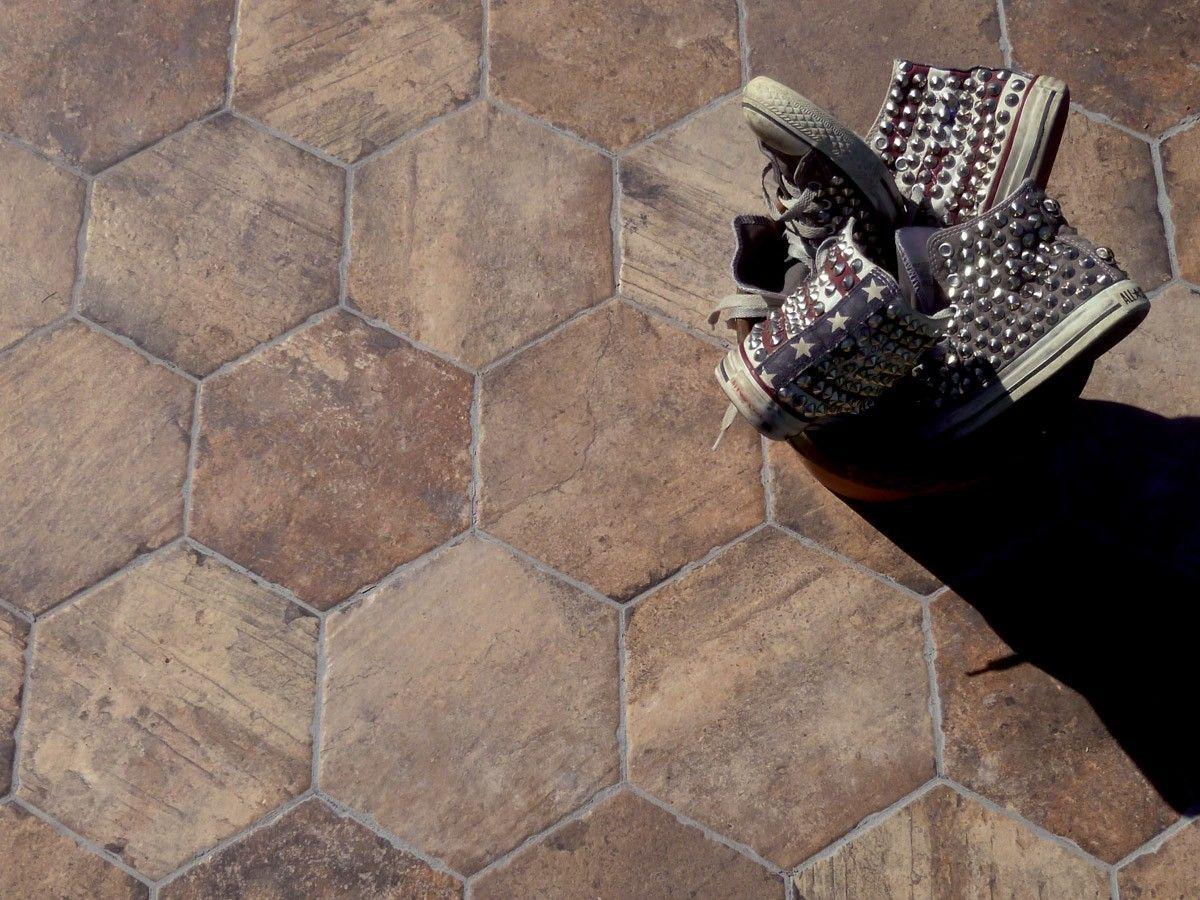 Chicago Cub Hexagon Floor Tile Tile Choice Tile Choice Decor