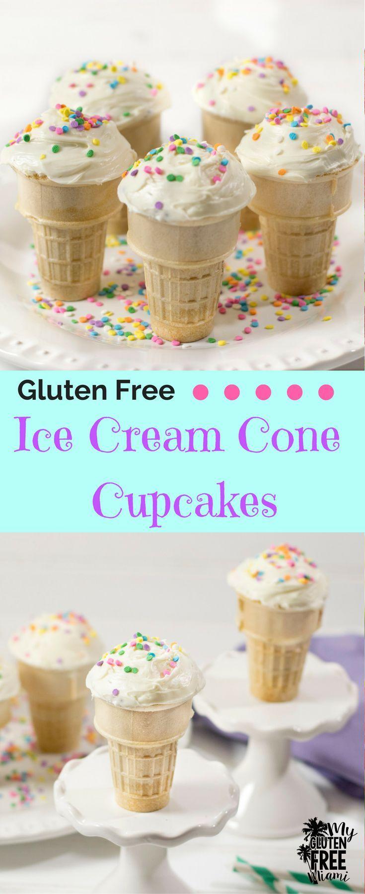 Gluten free ice cream cone cupcakes recipe gluten free