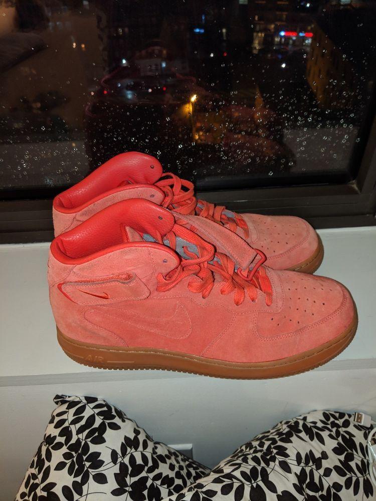 newest 3fb5f bf38f Air Force Leather Nike 9 Eksempel Premium Id Mid 1 clothing Sko Størrelse  fashion dC4awxqa