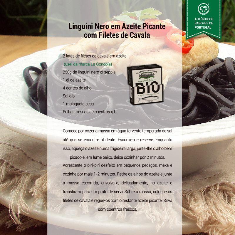 Linguini com Filetes de Cavala