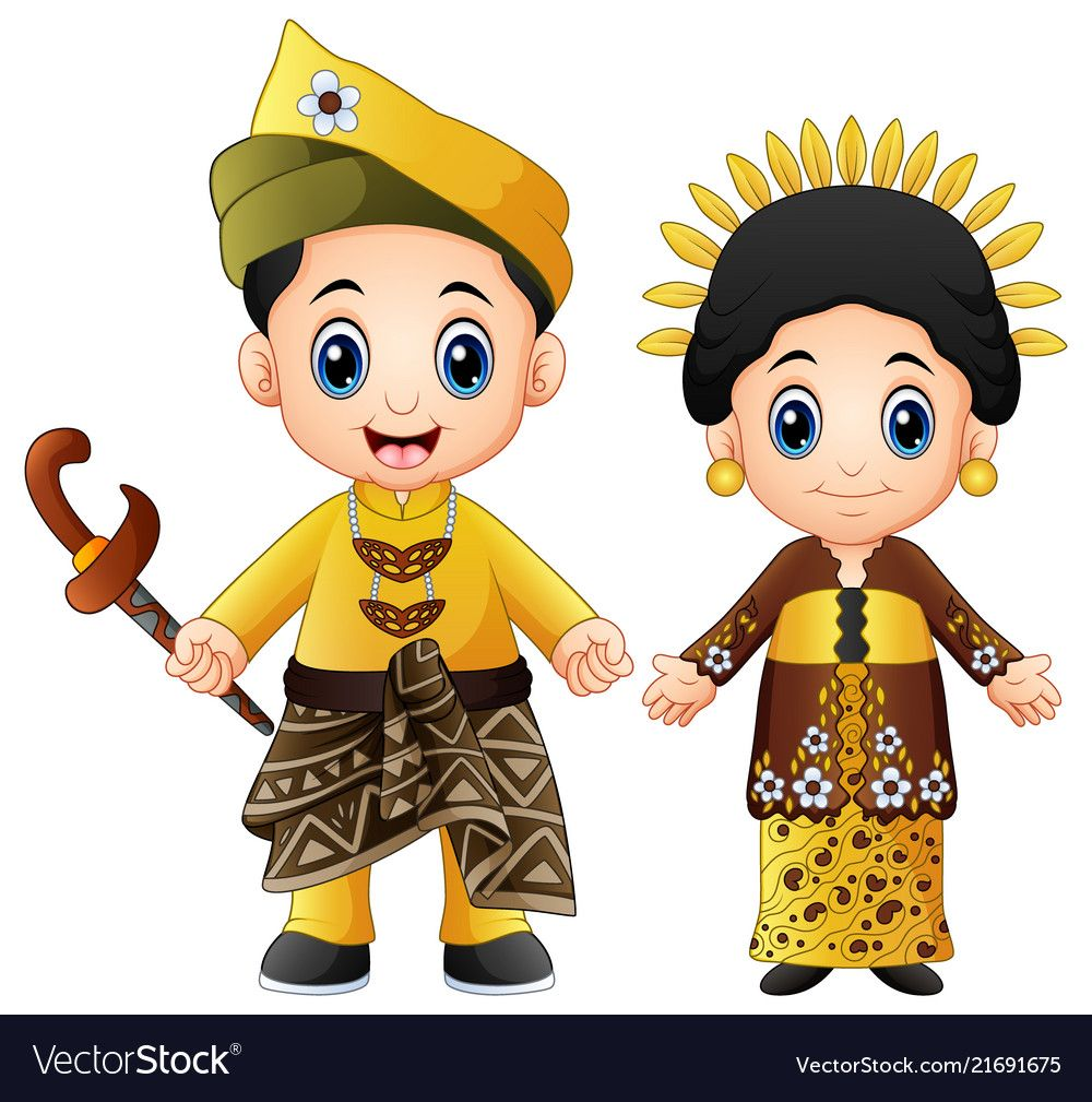 Pakaian Adat Sulawesi Selatan Animasi