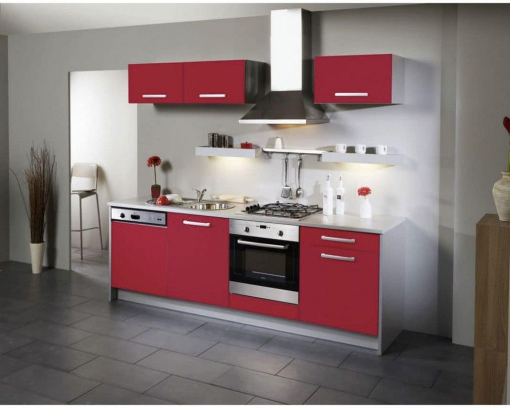 Deco Cuisine Rouge Et  Kitchen design