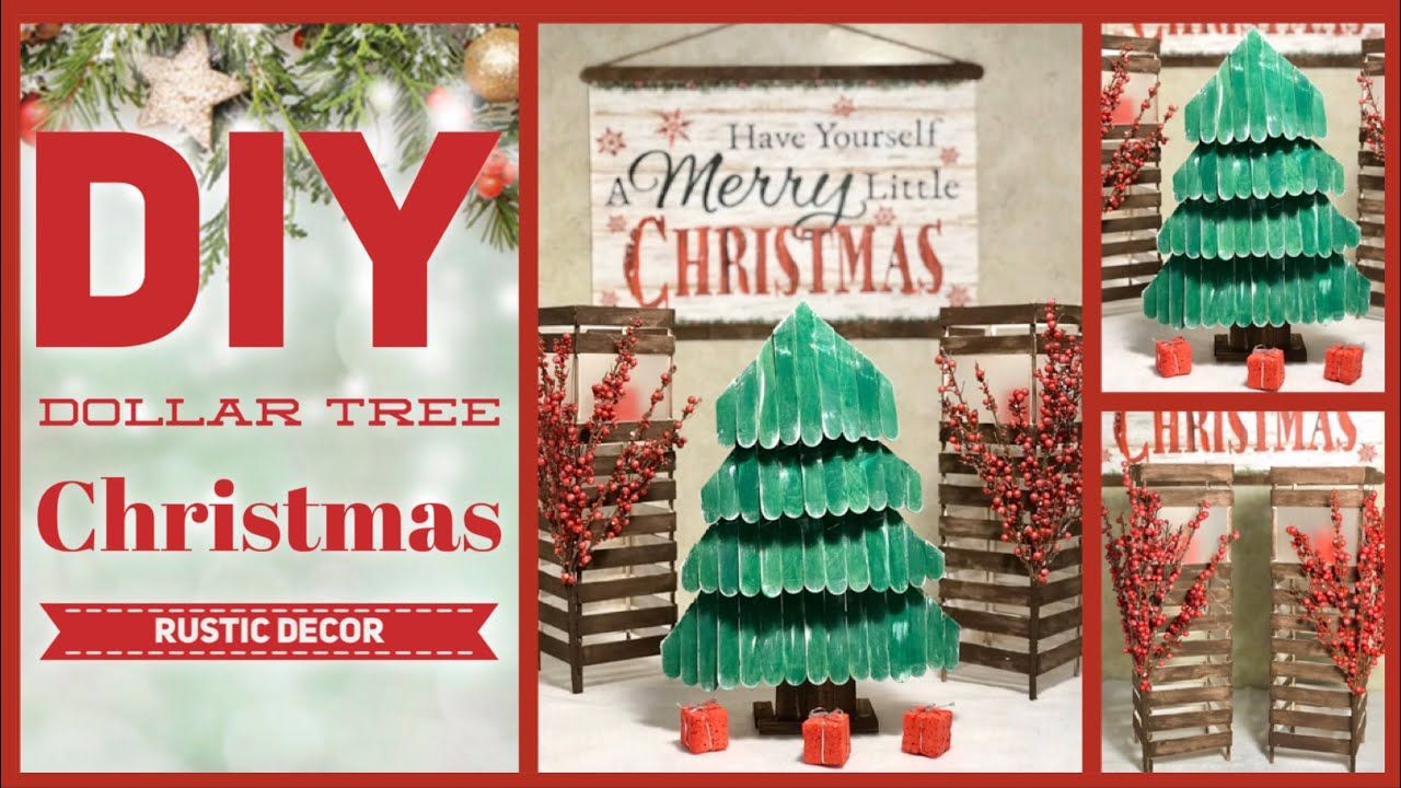 Dollar Tree Diy Rustic Farmhouse Christmas Decor Ideas 2019 Simple Lantern Tree Sign Crafts Christmas Decor Diy Diy Dollar Tree Decor Dollar Tree Crafts