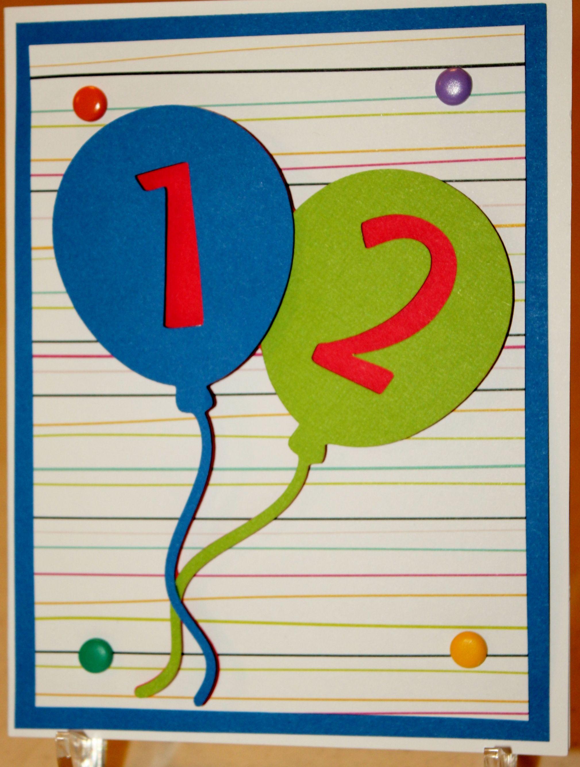 12th Birthday Card 12th Birthday Cards Birthday Cards