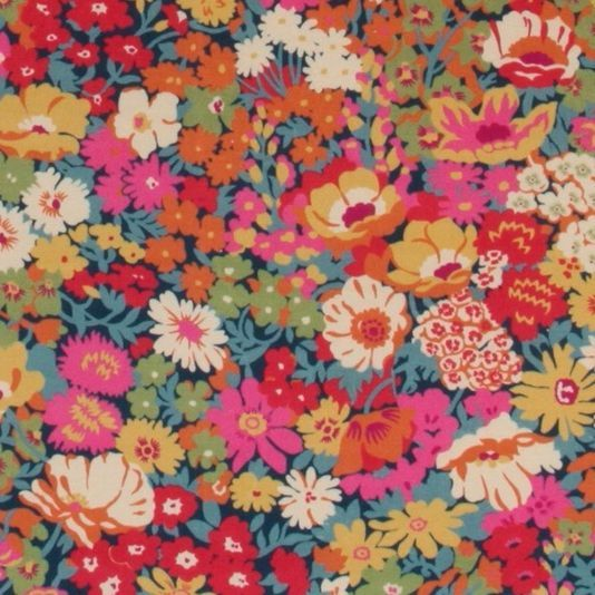 Flowers of Thorpe Velvet Fabric