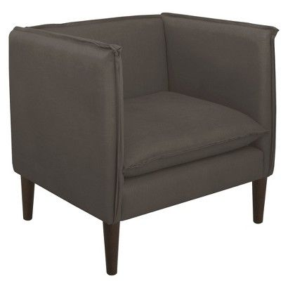 Superieur Skyline Accent Chair   Linen Cindersmoke