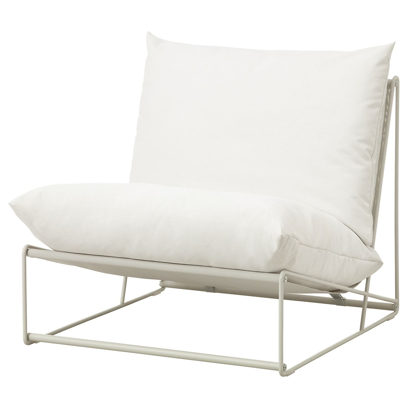 Havsten Chair In Outdoor Beige Ikea Furniture Cushions On