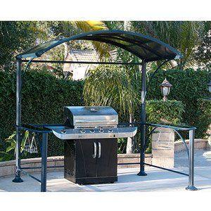 amazon com gazebo hard top grill cover