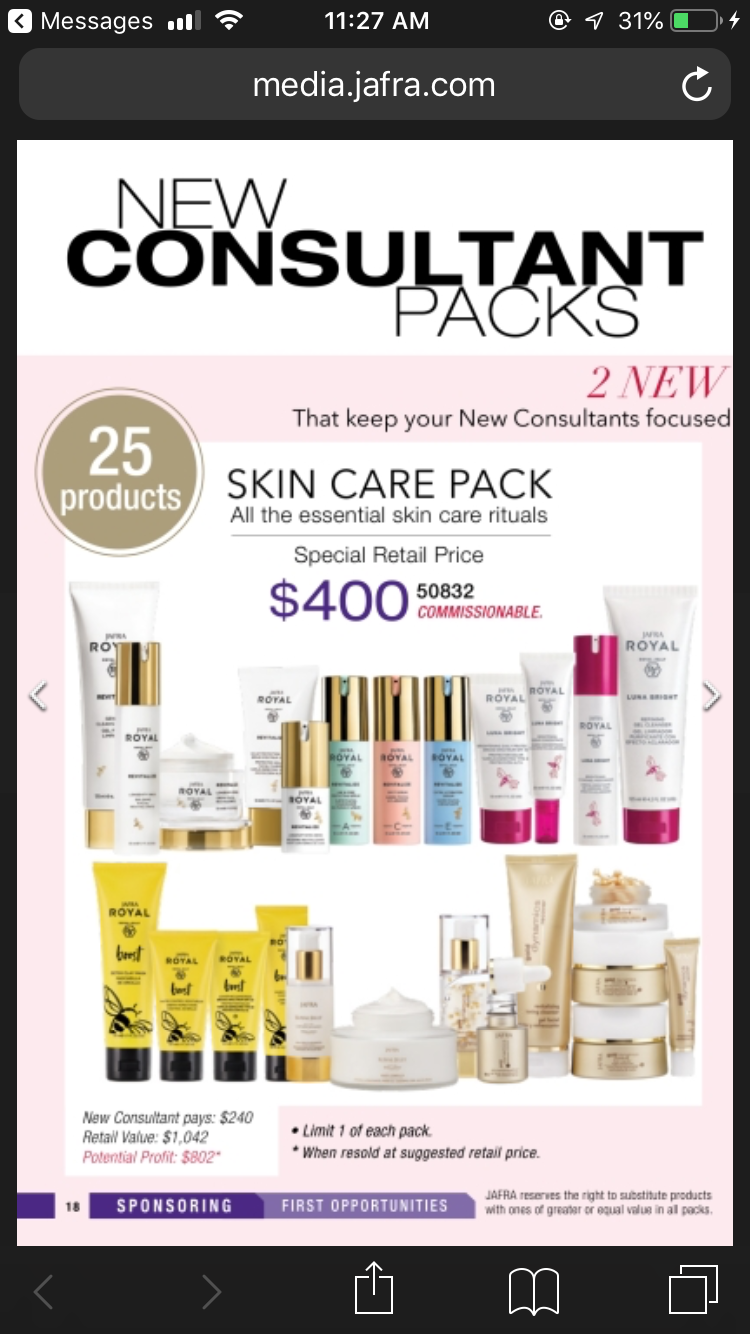 Pin by ᗰᗩᖇKEIᔕᕼᗩ on ⒿⓐⒻⓡⒶ Skin care, Messages, Retail price
