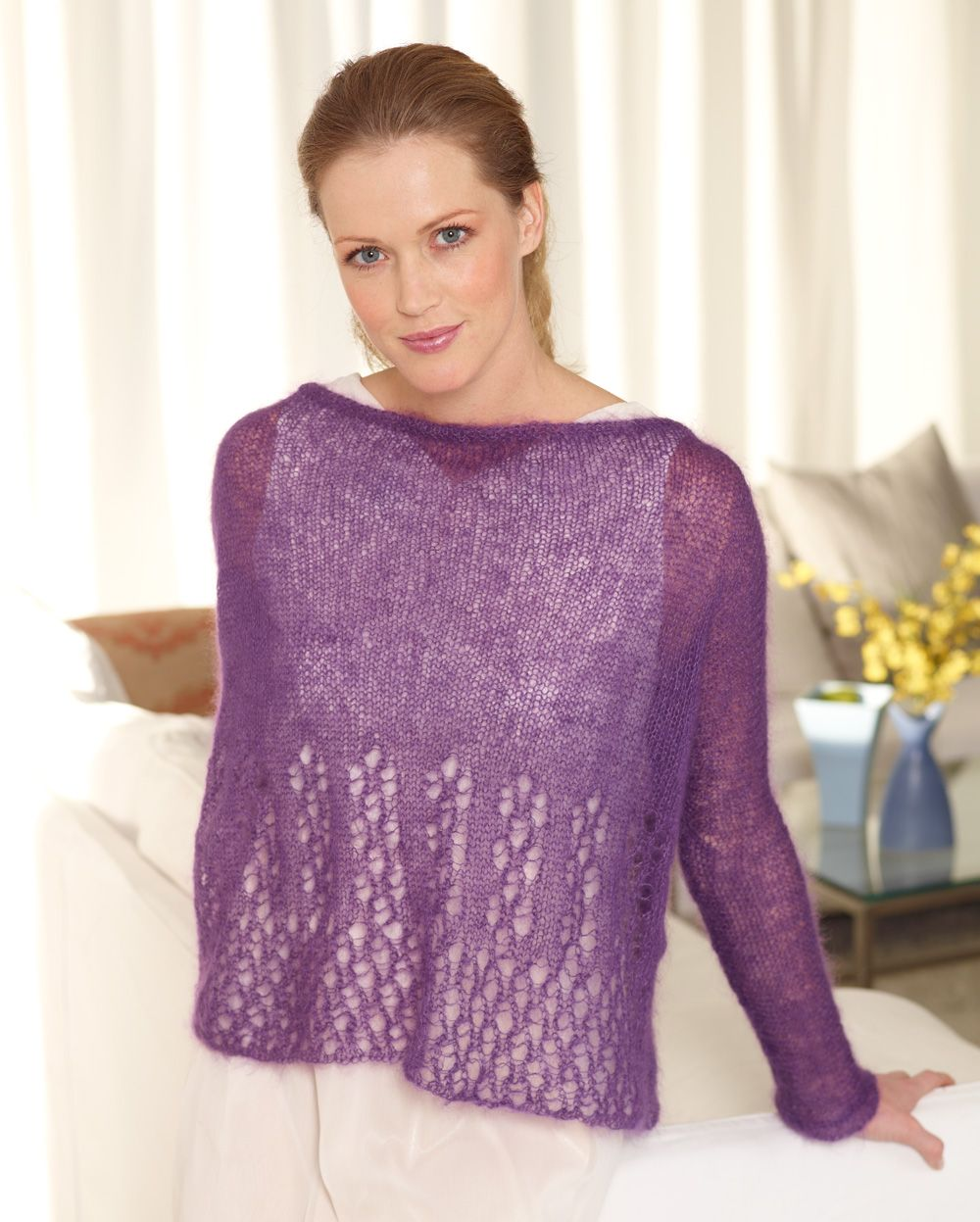 Make out luxe lace pullover with our featured yarn lb collection make out luxe lace pullover with our featured yarn lb collection silk mohair save on this yarn for a limited time free knit pattern calls for 3 5 bankloansurffo Images