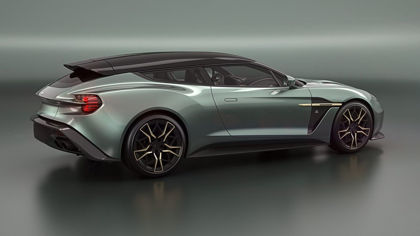 new aston martin vanquish zagato shooting brake colors | pepsboard