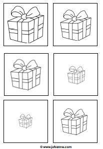 Cijfers Kleurplaat Klein 1 Sinterklaas Cadeautjes Van Groot Naar Klein Meerdere Keren Op