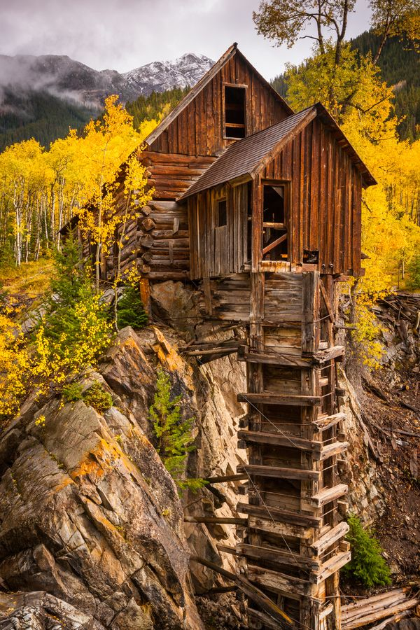 Ptnpowers Woodendreams Crystal Mill Colorado Us By Jason