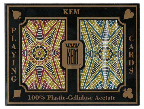 Kem Stargazer Bridge Regular 100% Plastic Playing Cards by KEM. $23.29. Kem Stargazer Narrow Regular