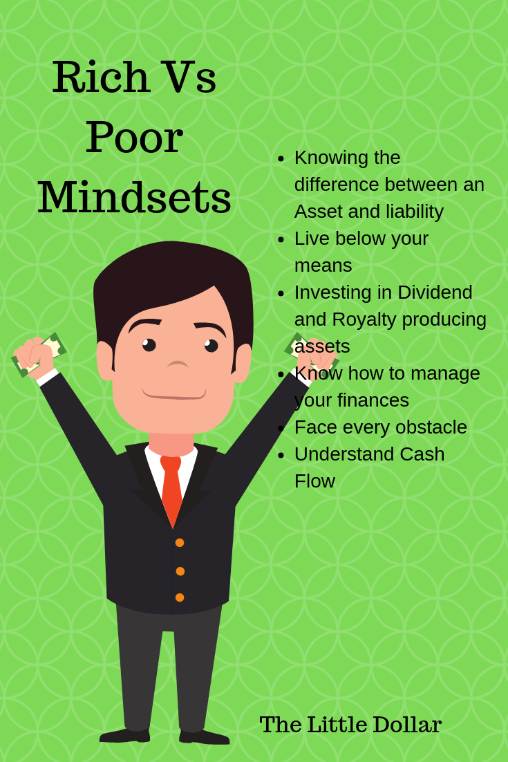 Rich Vs Poor Mindsets Rich Vs Poor How To Become Rich How To