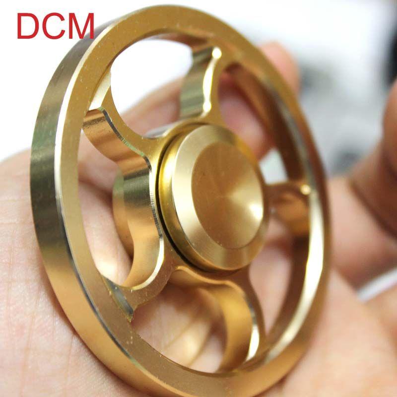 Hand Spinner Anti Stress Fid Toys Fingertip Gyro gold Fid