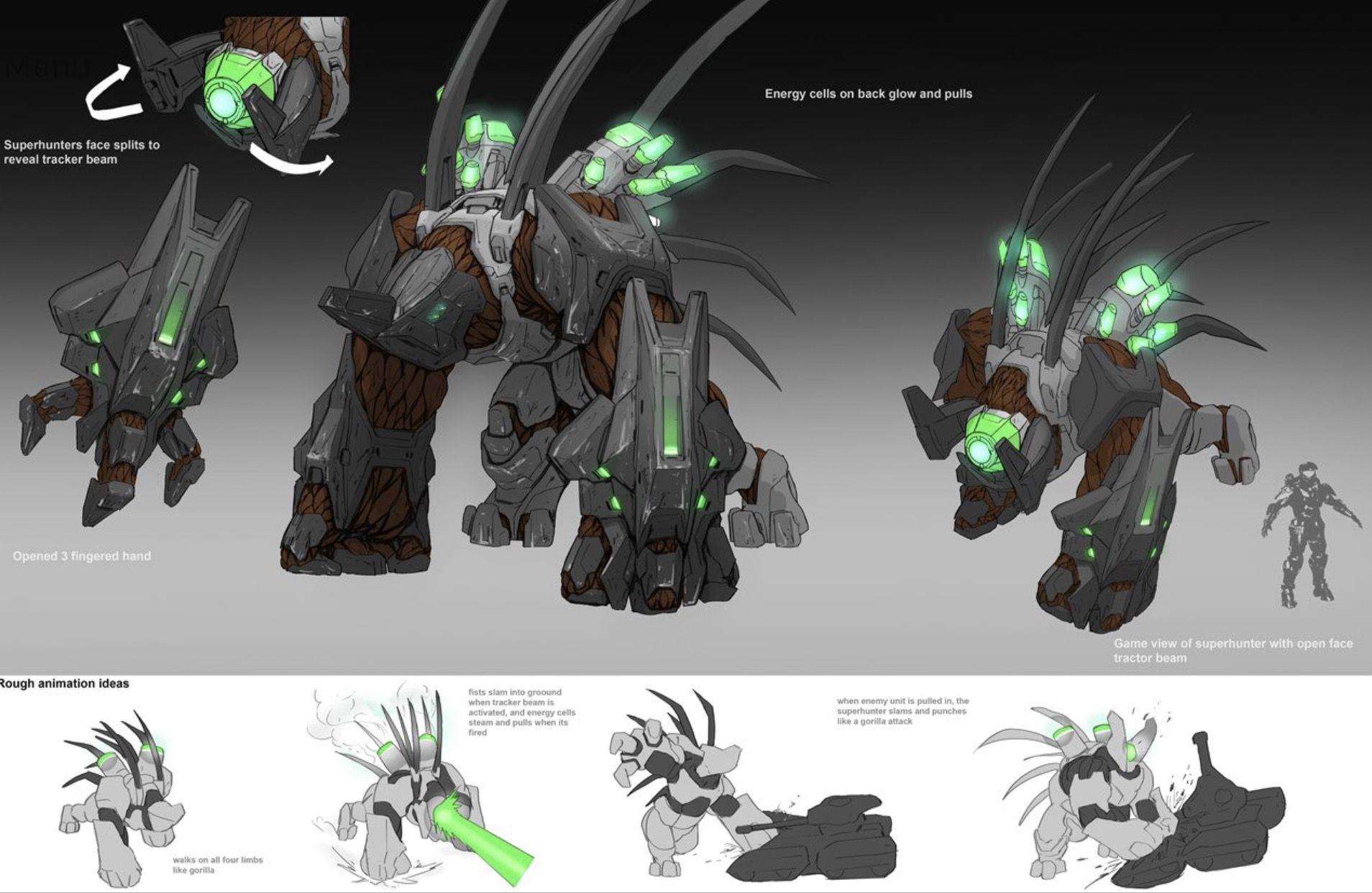 Colossus? Halo Wars 2 Concept | Halo | Halo armor, Halo