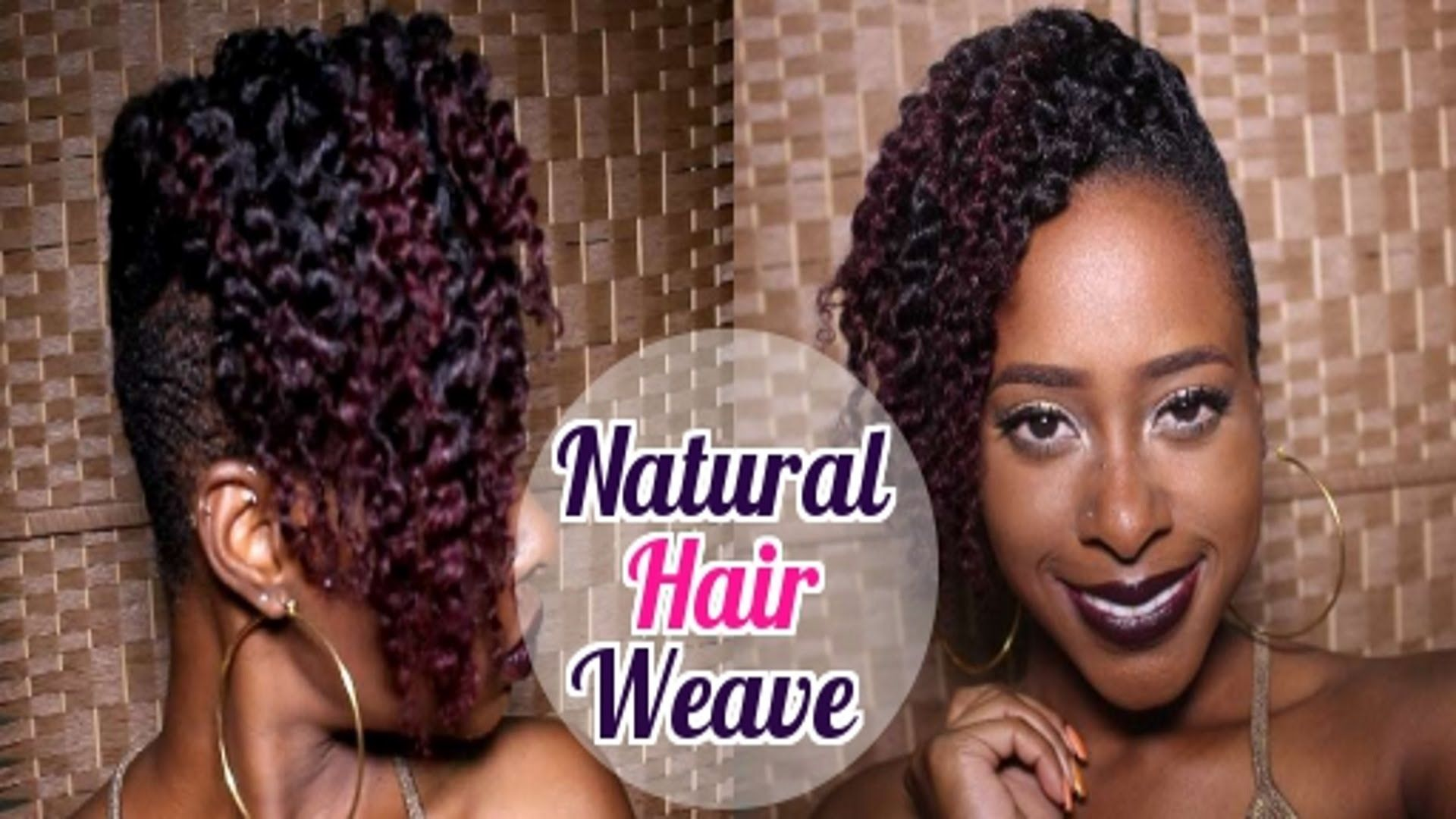 Most Affordable Natural Hair Weave Weave On Tapered Cut Pixie