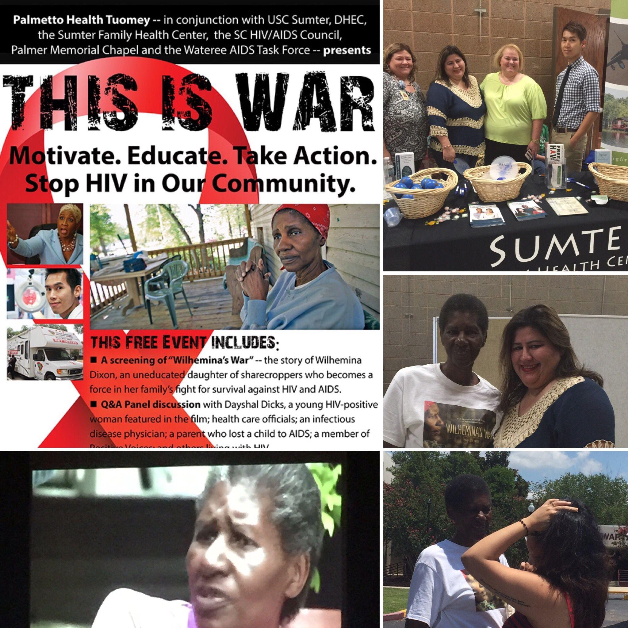 Wilhelmina War Work Friends Family Health Free Event