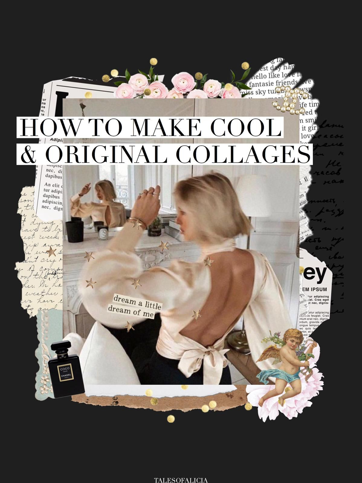 HOW TO MAKE COOL & ORIGINAL COLLAGES ON YOUR PHONE (With