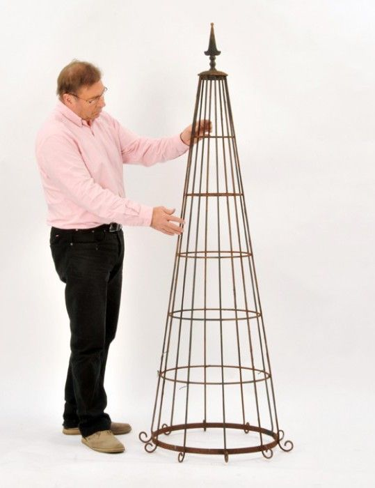 Ditton Priors Victorian Garden Plant Obelisk   Garden Obelisks And Climbers    Plant Supports And Garden Obelisks   Garden Planters U0026 Accessories    Garden ...