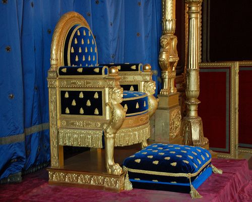 Throne Idea painted furniture Pinterest