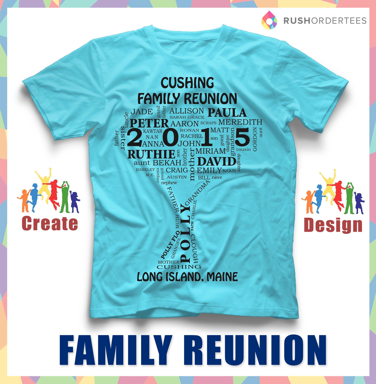 Family Reunion T-Shirt Ideas! Create your custom family ...