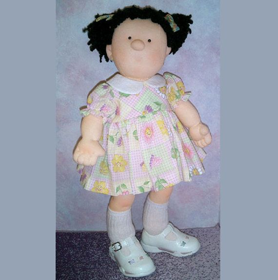 Cloth Doll Pattern - Toddler Doll Pattern - Doll Sewing - Make a doll - Mailed Pattern