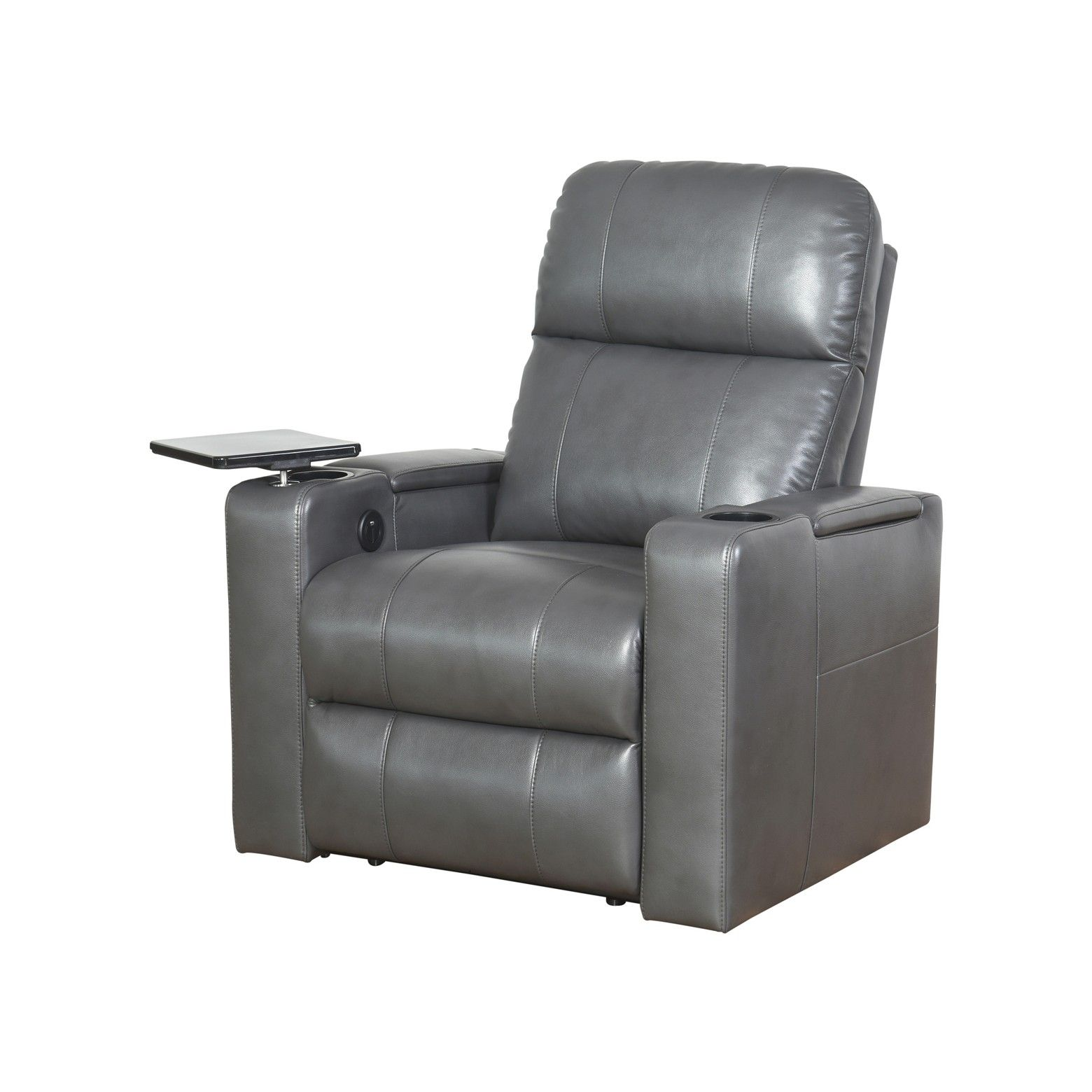 Groovy Abbyson Living Ronnie Leather Theatre Recliner Furniture Gmtry Best Dining Table And Chair Ideas Images Gmtryco