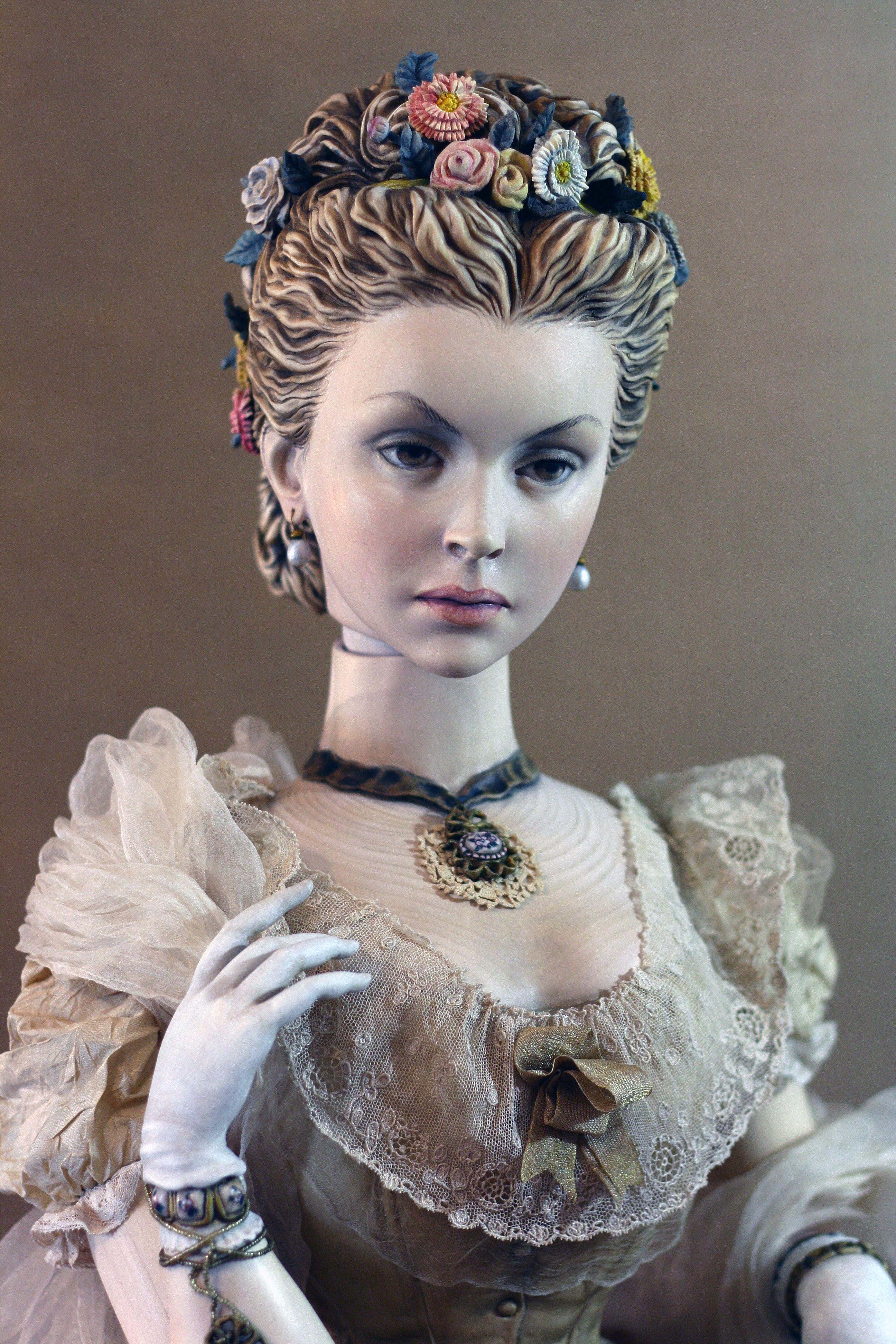 Wooden dolls from Julia Sochilina 70