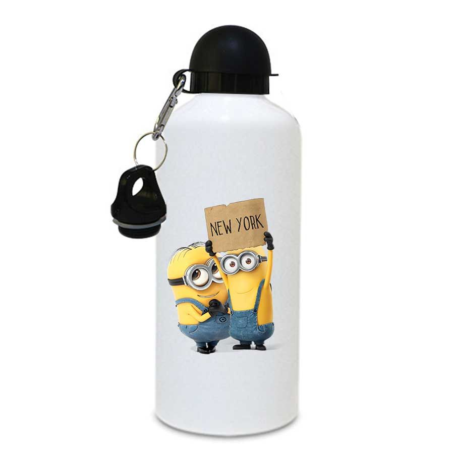 bf075d1c06 Printed Minion Sipper / Water Bottle With Free 1 Cap 144 ( Aluminium ) 750ml  | Printed Sipper bottle