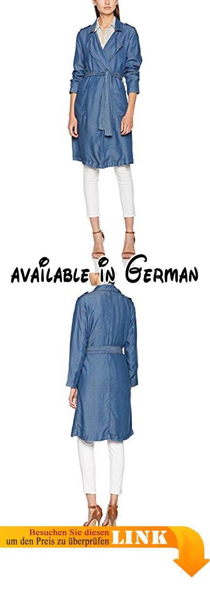 FreeQuent Damen Mäntel Shine-JA-Tencell Blau (Dark 1340), 36 (Herstellergröße: S).  #Apparel #OUTERWEAR