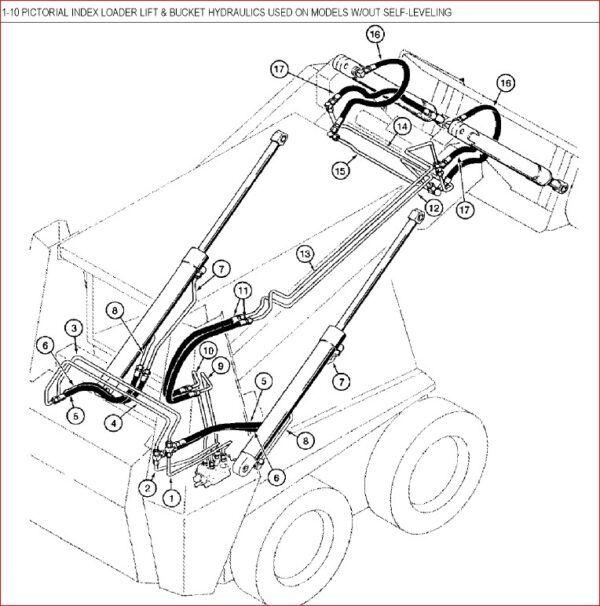 Case 1838 Skid Steer Loader Parts Catalog Manual in 2020