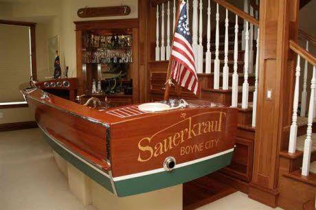 Way Cool. Love This Boat Bar