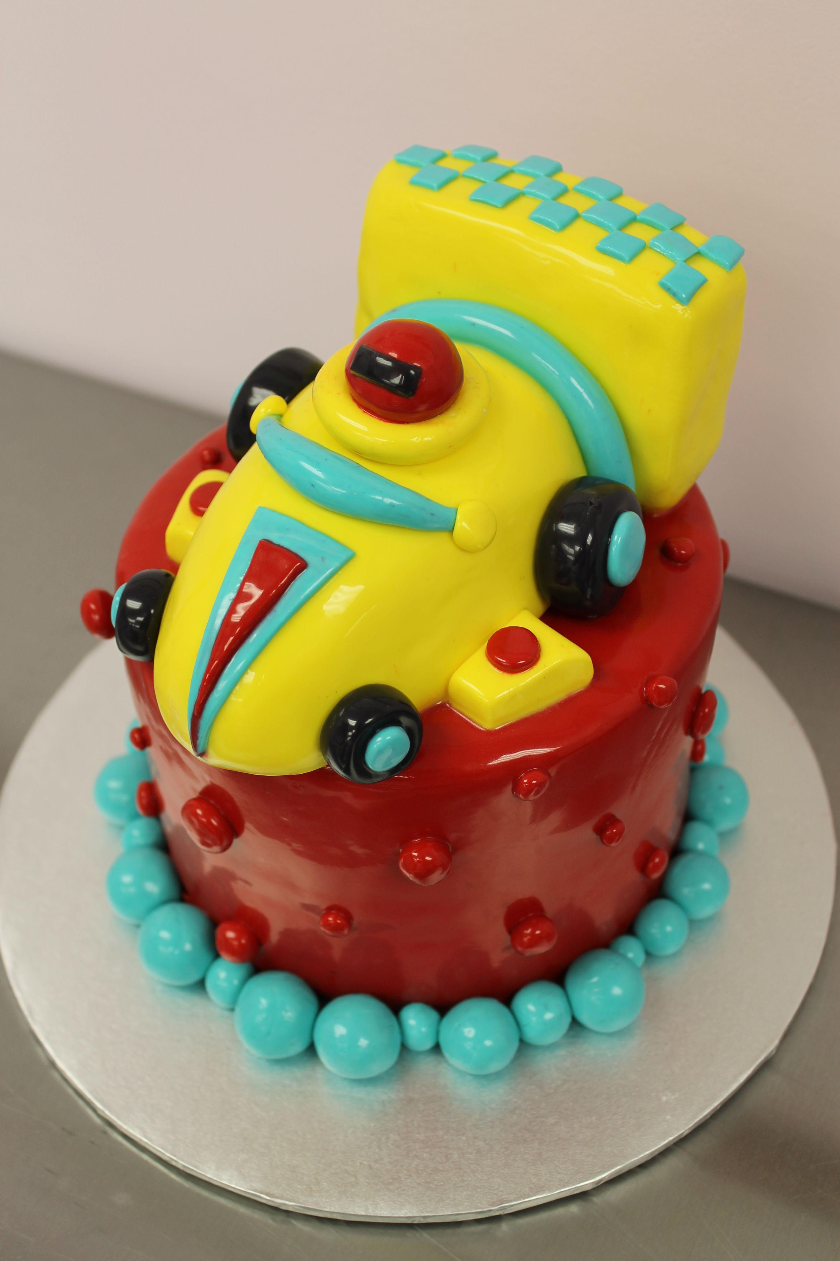 Miniature race car cake Cakes Pinterest Car cakes Cake and