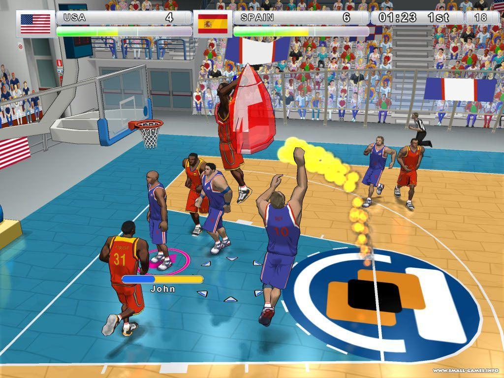 Скачать игру баскетбол на пк