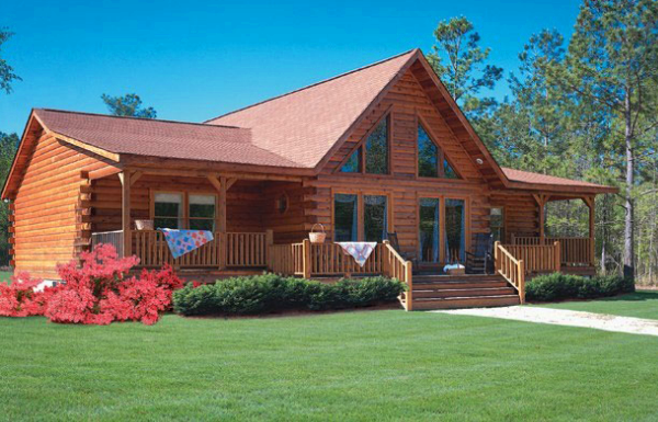 Clearwater Home Plan By Coventry Log Homes Inc
