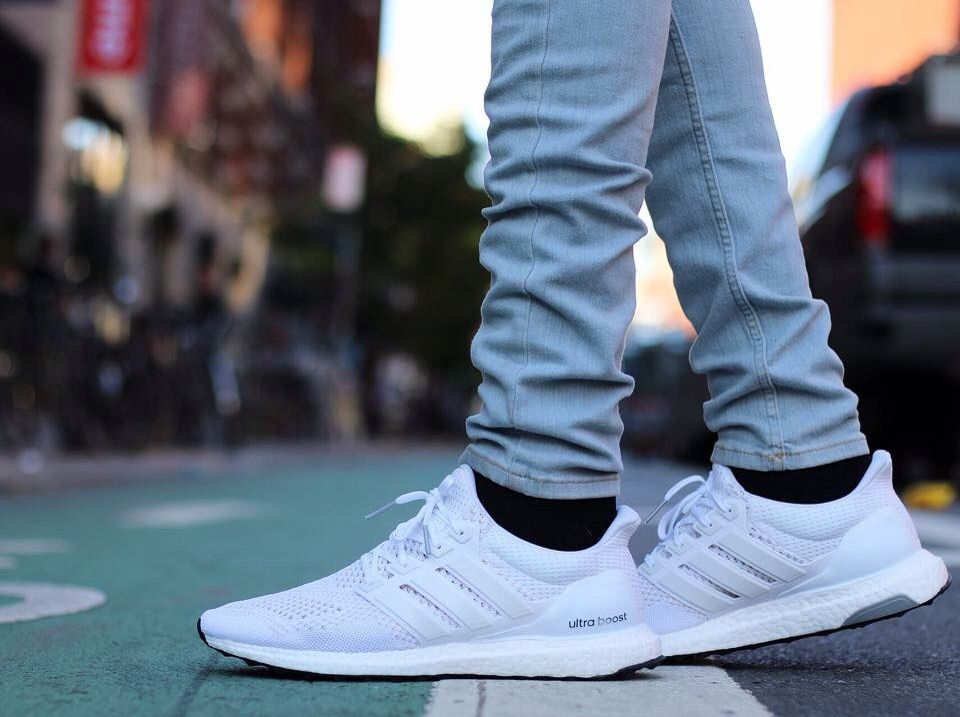adidas Ultra Boost Cocaine White