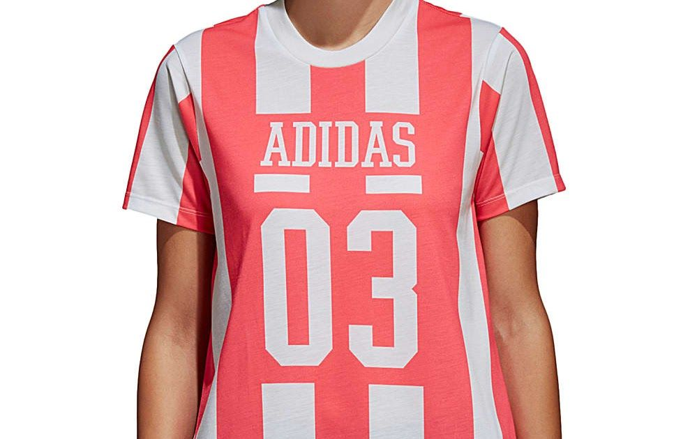 Adidas Aa 42 T Shirt Pour Femme Rouge Sport Pinterest