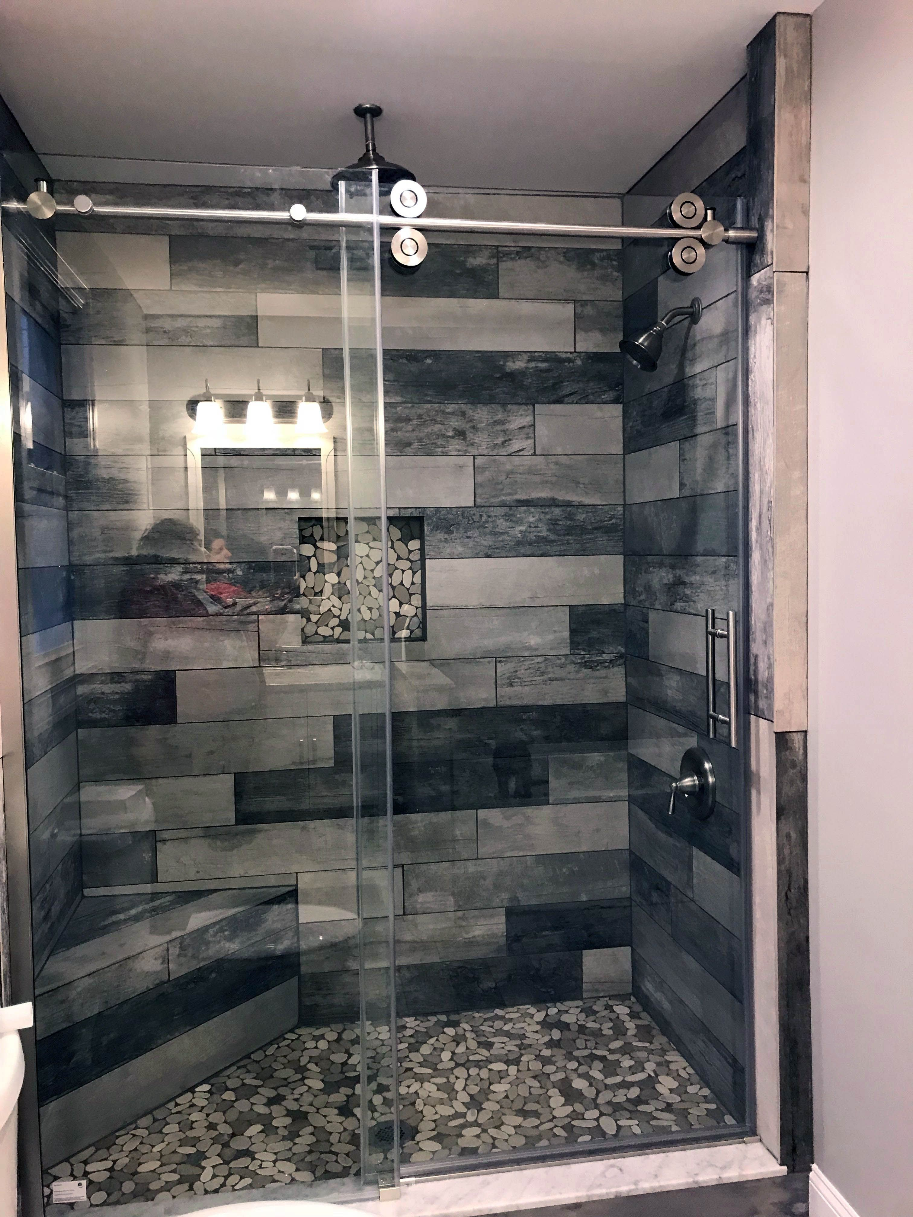 Good Natural Stone Shower Tile Ideas To Refresh Your Home