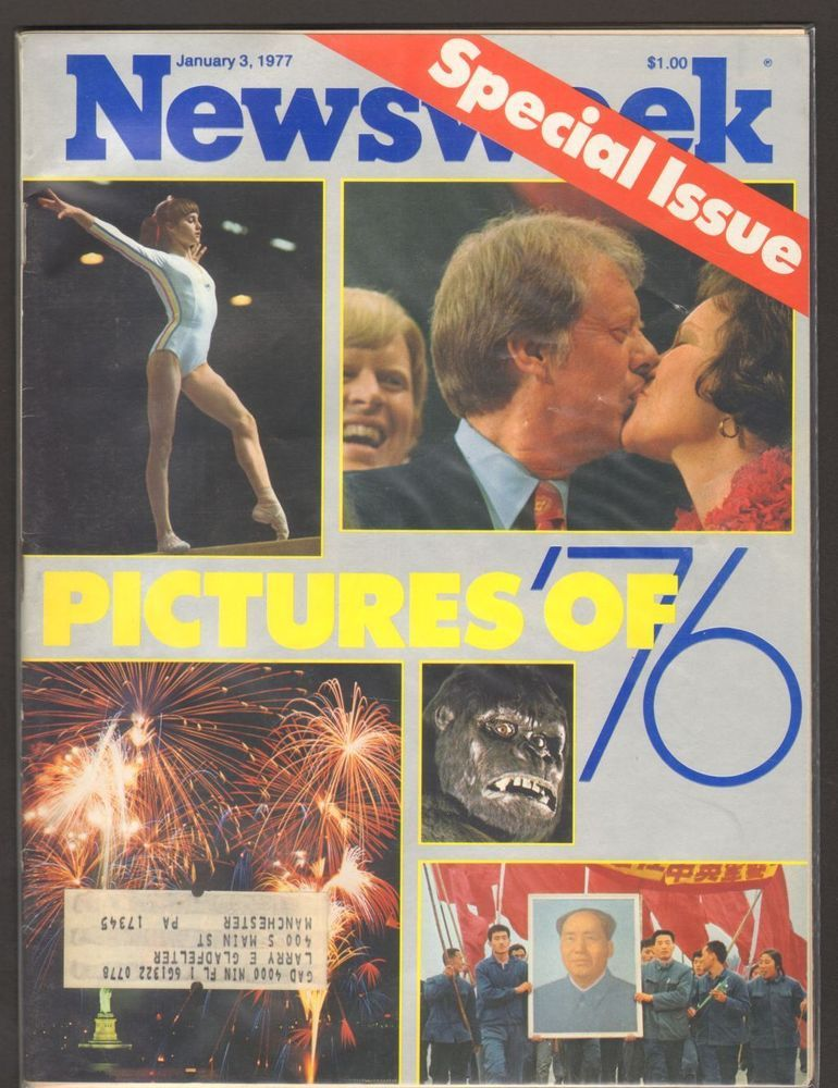 Newsweek Magzine January 3 1977 Pictures of 76 Special